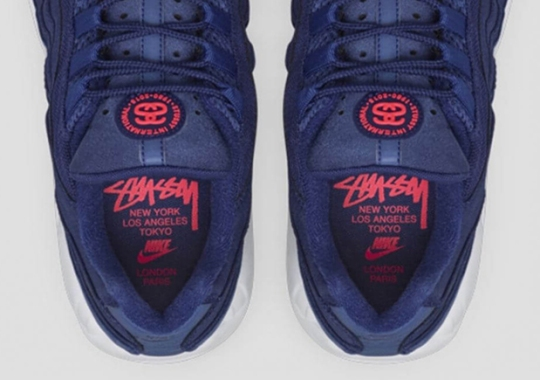 The Stussy x Nike Air Max 95 Is Releasing At Select Stores This Friday