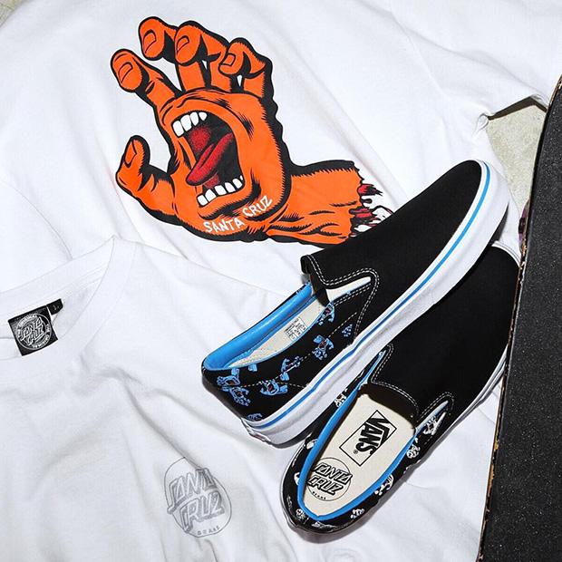 Iconic Skate Art Hits the Santa Cruz x Vans Slip-On - SneakerNews.com