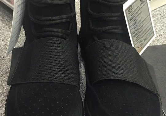 "adidas Yeezy Boost 750 ""Black"" Confirmed For December 19th Release"