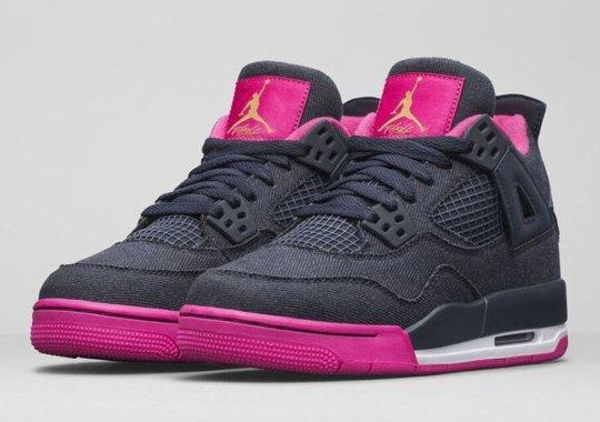 Jordan Brand Brings Denim To The Air Jordan 4