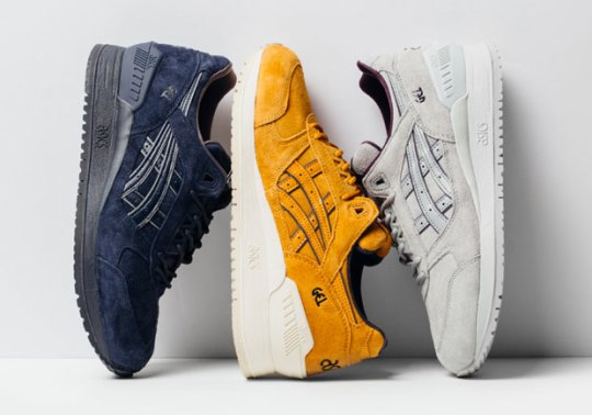 ASICS GEL-Respector Release In Three Tonal Suedes