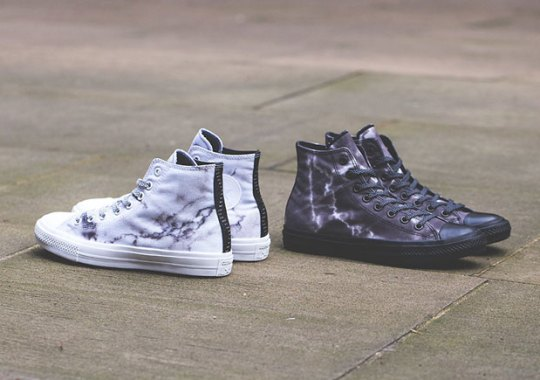 The Converse Chuck Taylor II Gets A Marble Upgrade