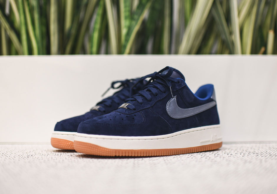cheaper 5bf9c 04025 ... suede midnight navy ff52d 40da7  promo code nike wmns air force 1 low  premium. color string metallic style code 818595