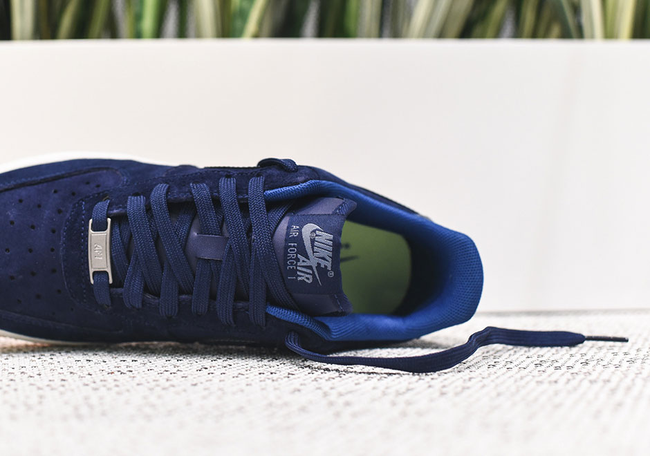 Nike Air Force 1 Femmes Blue Suede xcSoG5veRn