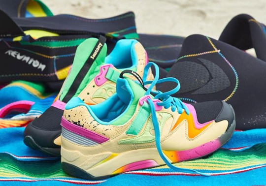 Surfing Style Inspired This Colorful Saucony Grid 9000 By Shoe Gallery
