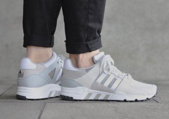 Clean And Simple Suedes On The adidas EQT Running Support