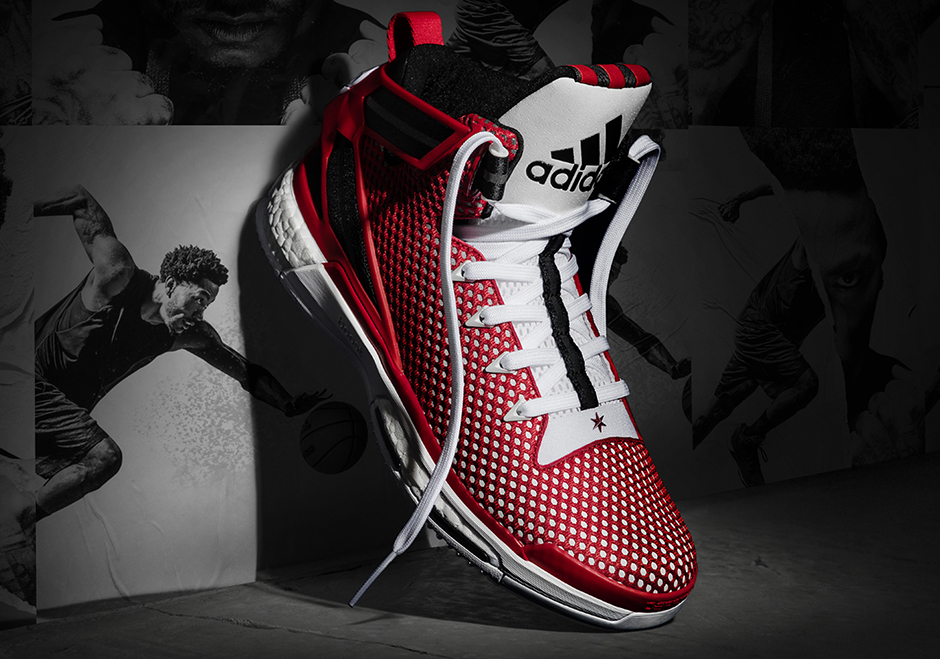 "new style a9152 e63f5 adidas Hoops Introduces New ""Home""  ""Away"" D Rose 6 Boost Colorways"