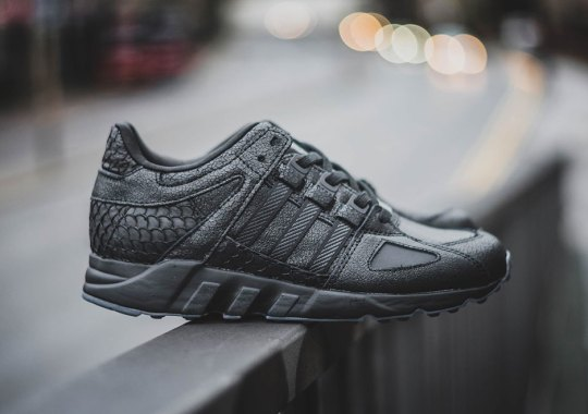 Euro Shops Are Releasing The Pusha T x adidas EQT This Week