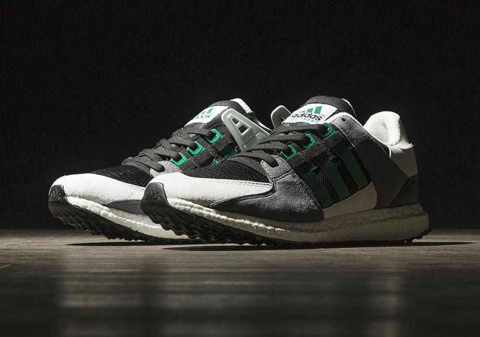 Adidas EQT Support 93 16 Boost Core Black White Green S79111   Défi ... c96f68e8b3