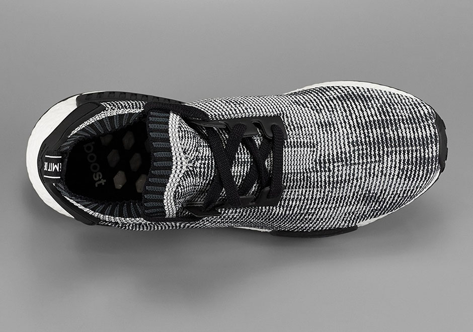 Adidas Nmd R1 Corredor Pk Primeknit Monocromo wYt9QmJ