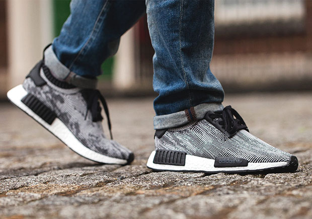 adidas NMD_R1 Trail x White Mountaineering Green, White CG3647