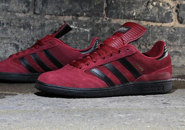 adidas busenitz burgundy skate scarpe