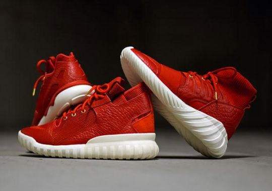 adidas Celebrates Chinese New Year With All-Red Tubulars
