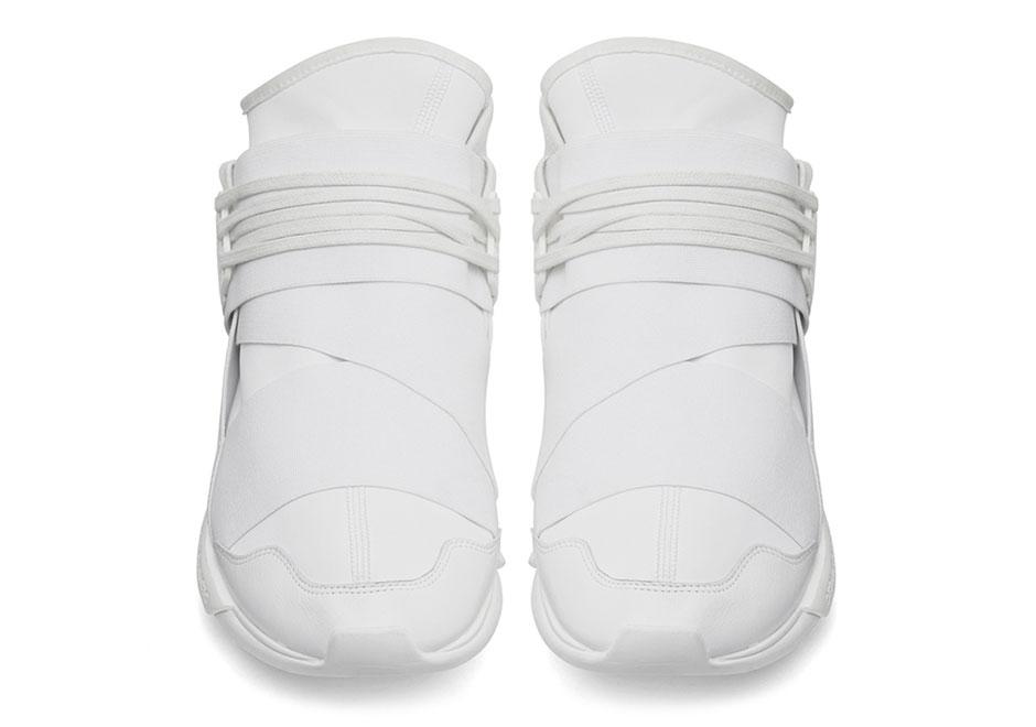 quality design 0dbb2 fdd40 A Detailed Look At The adidas Y-3 Qasa Hi