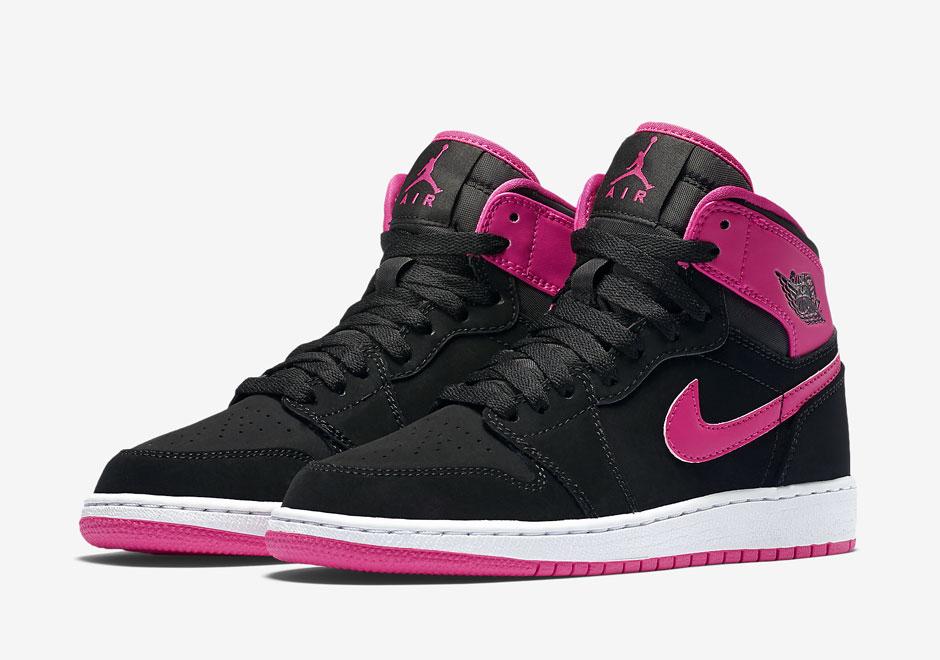 "watch 6a34a 0b3fb Air Jordan 1 Retro High GG ""Vivid Pink"""
