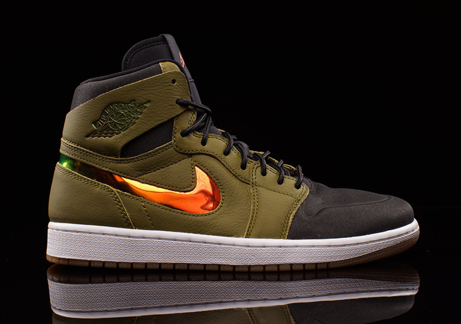 d76cbe22cae Air Jordan 1 High Nouveau Militia Green 819176-306