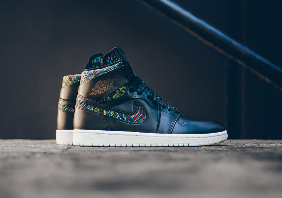 best sneakers 0675d 6e3bb The Air Jordan 1 Nouveau Kicks Off Jordan Brand s 2016 BHM Collection
