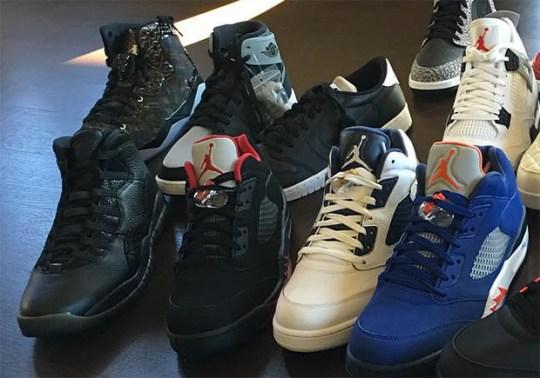 """Air Jordan 10 """"OVO"""" In Black May Be Releasing Soon"""