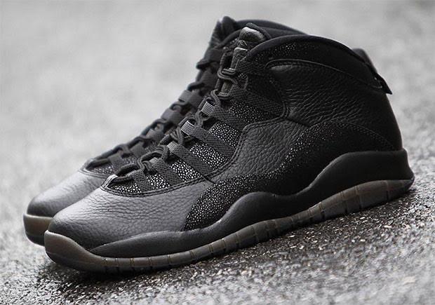 "The Air Jordan 10 ""OVO"" Is Back In Black"