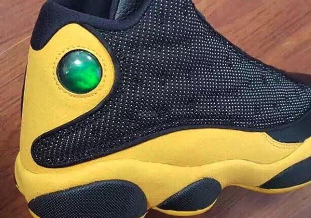 Air Jordan 13 Melo PE Might Black Yellow 2016 Release