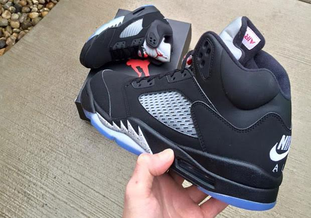 buy online 76e99 e3f5f Air Jordan 5 Nike Air Black/Metallic 2016 Retro ...