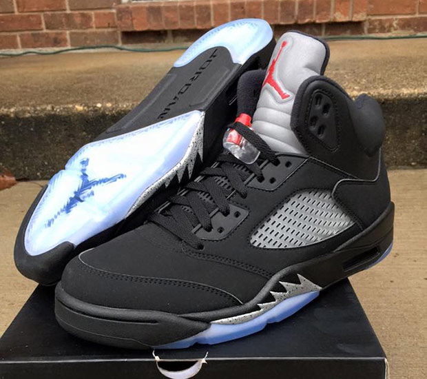 "separation shoes e1791 4427c Air Jordan 5 Retro ""Black Metallic"""