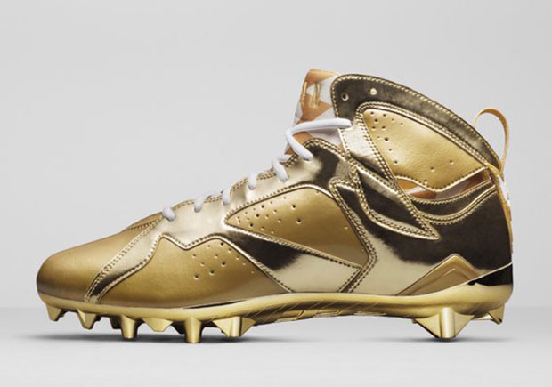 gold jordan shoes