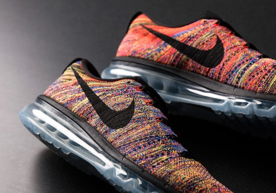 "Here's Another Chance At The Famed Nike Flyknit Air Max ""Multi-Color"""