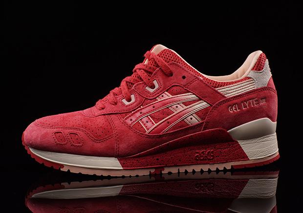 on sale 0c2b6 cfbf7 ASICS Gel Lyte III Valentine's Day 2016 | SneakerNews.com