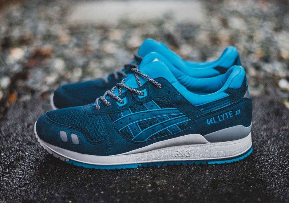 asics almost mimics ronnie fieg 39 s cove with this new gel lyte iii. Black Bedroom Furniture Sets. Home Design Ideas