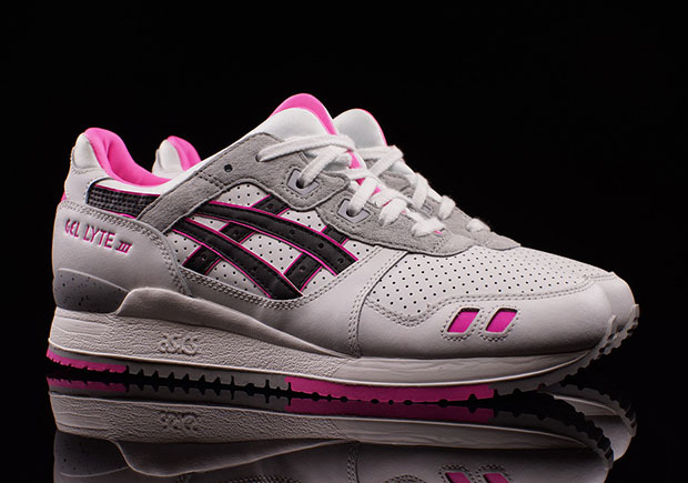 More Pink Tones On The ASICS GEL-Lyte III As Valentine's Day Nears