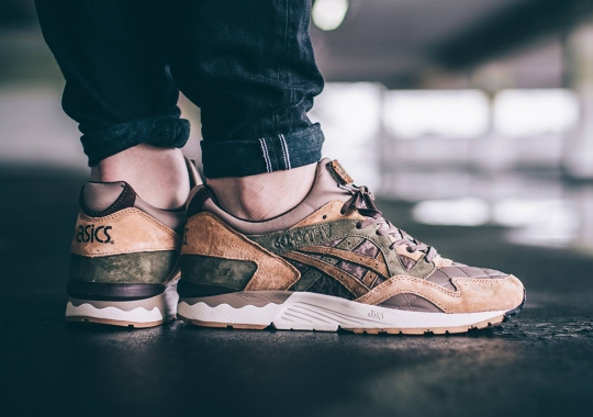 "KICKS LAB x ASICS-GEL-Lyte V ""Phys Ed"" Releasing This Weekend"