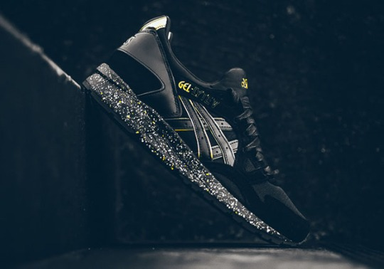 The Black/Gold atmos x ASICS GEL-Lyte V Drops this Weekend