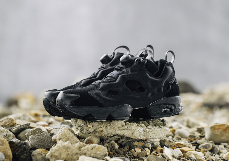 Beauty amp Youth Opts For Tonal Black For Their Reebok Instapump Fury