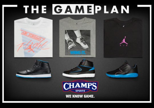 """Do The Right Thing And Pick Up Champs Sports The Game Plan """"Jordan Boombox Collection"""""""