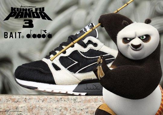 BAIT And Diadora Create A Kung Fu Panda 3 Sneaker