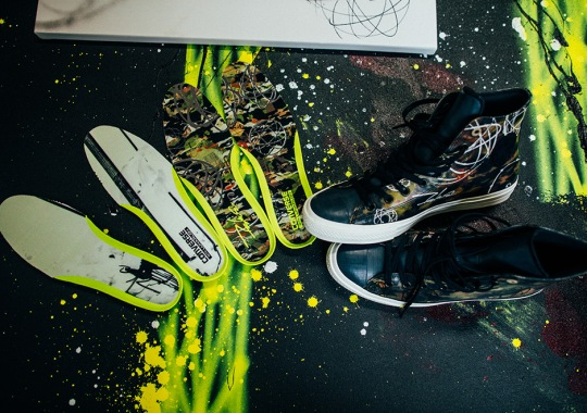 A Look At Futura's Converse Design Shot By Futura's Son 13th Witness