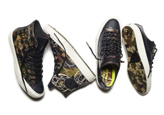 Sneaker Collab and Graffiti Legend Futura Teams Up With Converse
