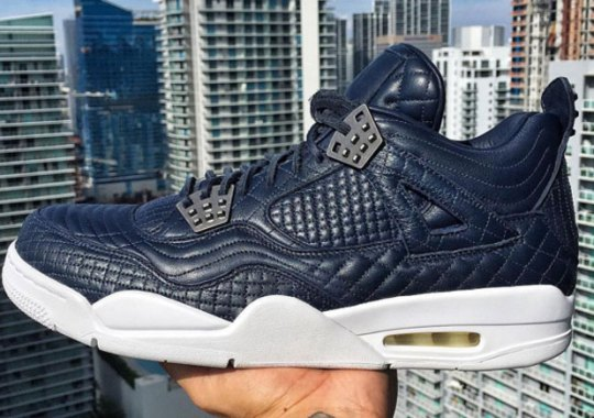 "The Air Jordan 4 ""Pinnacle"" Elevates The Stitch Game"