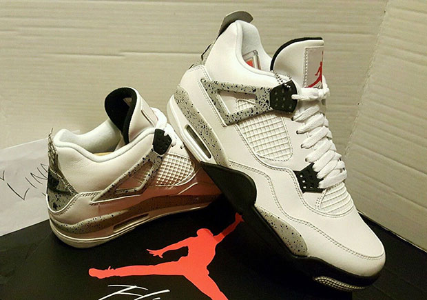 Cemento Blanco Air Jordan 4 Og Ebay