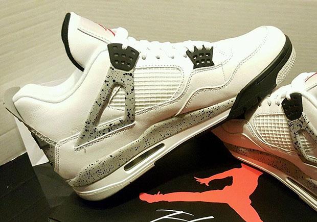 8a76d8447319 Nike Air Jordan 4 White Cement 840606-192