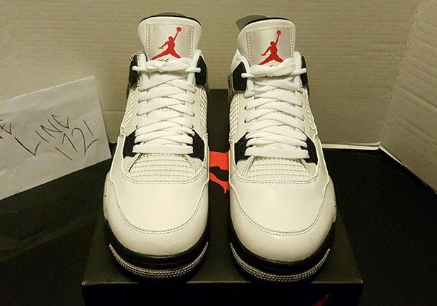 Luft Jordan 4 Og Hvit Sement Ebay Offisielle Siden bAktgnEt