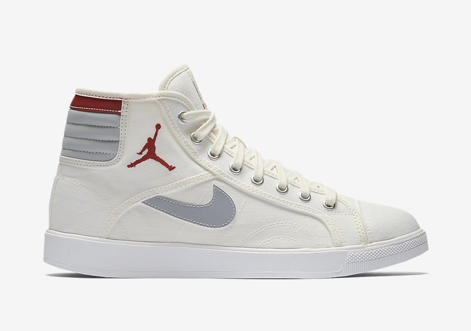Nike Swoosh And Jumpman Logo Both Appear On The Jordan Sky High Retro