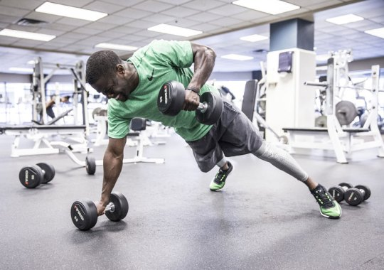 Nike Helps Kevin Hart Show His Serious Side In The Gym