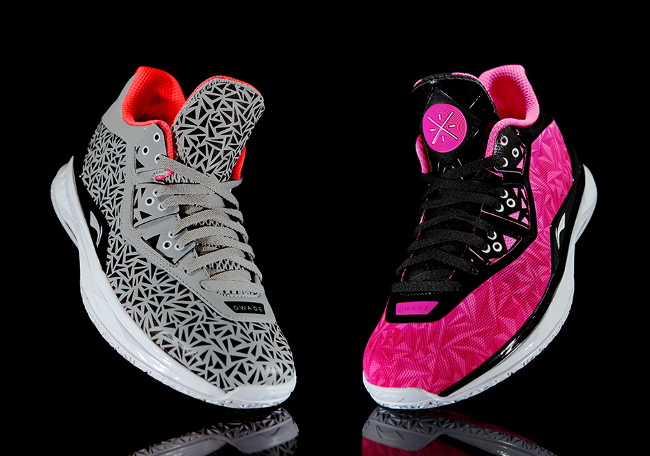 "new styles a98cd ee4e8 ... Li-Ning Way of Wade 4 in ""Birthday"" and ""Origami"" Colorways ..."