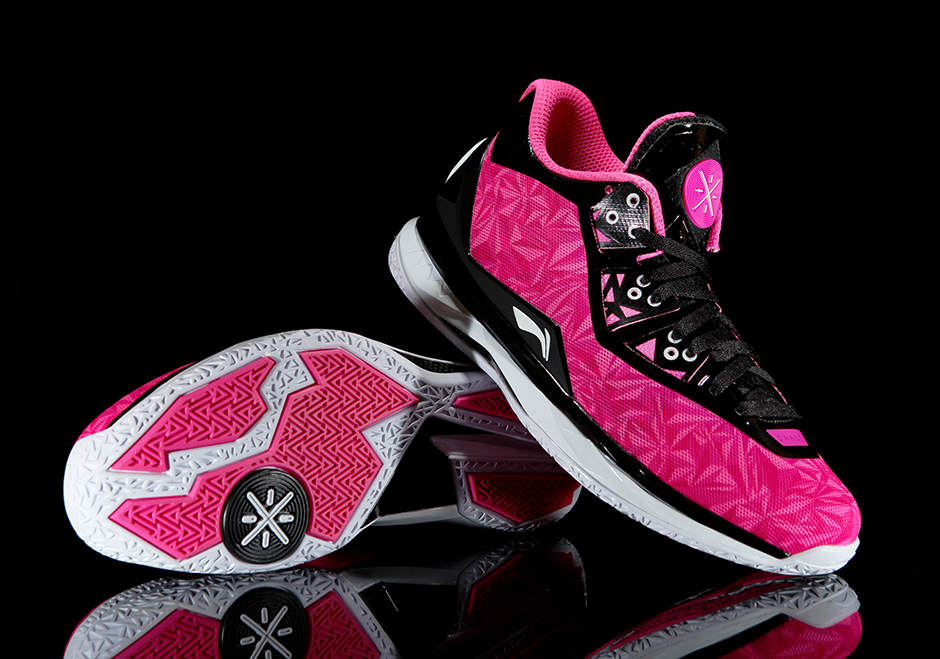 """Li-Ning Way of Wade 4 """"Origami Pink"""""""