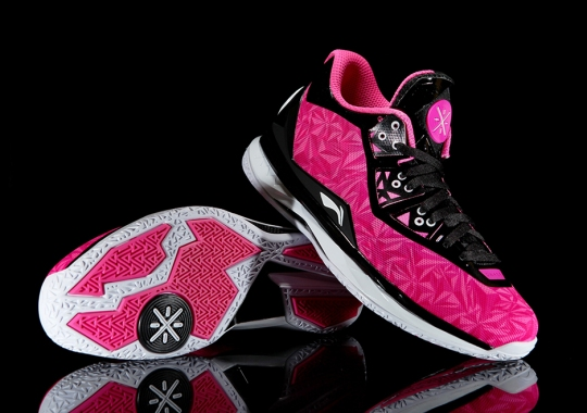"Li-Ning Way of Wade 4 ""Origami Pink"""