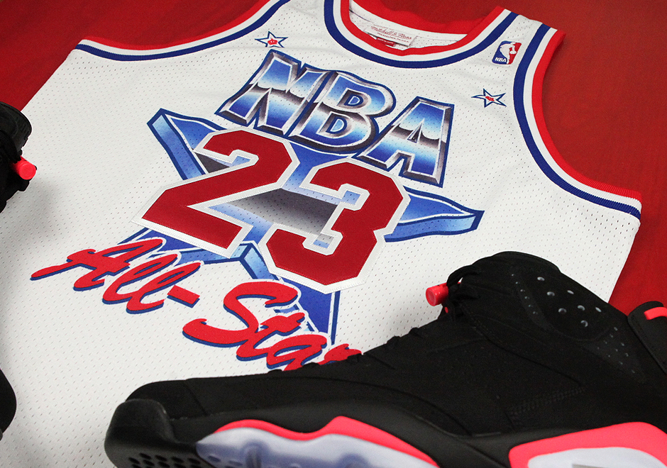 info for b5be6 6d53c Mitchell   Ness Celebrates 25th Anniversary Of Michael Jordan s 1991 All-Star  Appearance