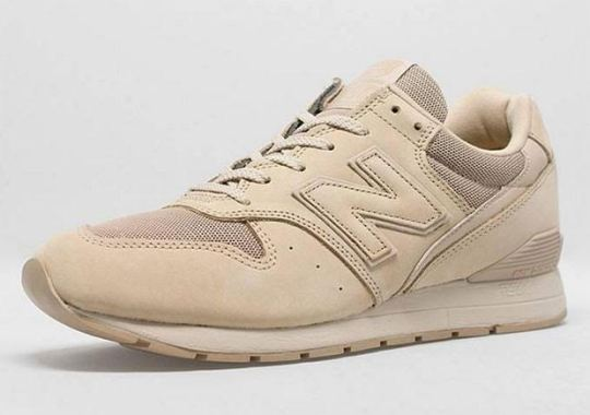The New Balance 996 Goes All Tan