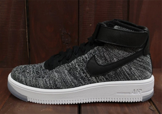 """Two Versions Of """"Oreo"""" On The Nike Air Force 1 Mid Flyknit"""